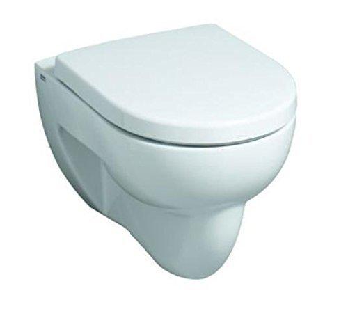Keramag Wand WC Flachspüler (ohne Deckel) Renova Nr.1 203140, KeraTect weiß 4,5/6L Hänge WC 203140600