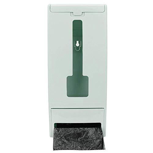 Dispensador de bolsas de plástico montado en la pared duradero Bolsas de basura Caja de almacenamiento Organizador Soporte para cocina(#2)