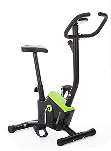 Bicicleta plegable Ejercicio renuencia ajustable vertical plegable bicicleta de ejercicios de cuerpo ajustable ajustable fija Pantalla Inicio máquina de entrenamiento Soporte ajustable Resistencia