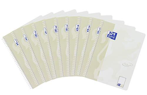 Oxford Touch Collegeblock A4, dotted punktkariert, 80 Blatt, 10er Pack