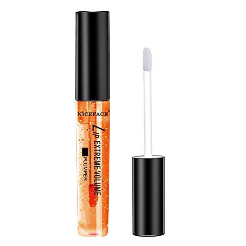 Brillant à lèvres plumper coloré, rouge à lèvres naturel Enhancer, sérum de soin pour les lèvres transparent
