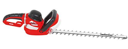 Grizzly Tools Elektro Heckenschere EHS 750 69 D, 750 Watt, 9-Fach Verstellbarer Drehgriff, Schnittlänge 61 cm, Robustes Metallgetriebe