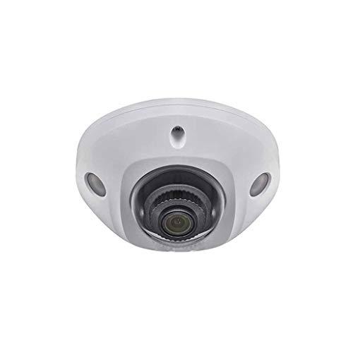 QPALZM Cámara Vigilancia WiFi Exterior,visión Nocturna Infrarrojos,Visión Nocturna 50M,Detección de Movimiento,Audio Bidireccional,Alarma luz Sonido,cámara automática Inteligente 360 °