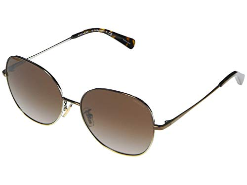 Coach Gafas de Sol HC 7108 Brown/Brown Shaded 57/16/140 mujer