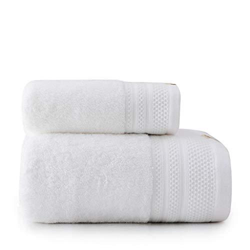 Guantes exfoliantes Establece toalla de baño de algodón de los hombres y de las mujeres absorbente toalla de baño doméstico Aseo Adult Hotel El engrosamiento de la bufanda de toallas de baño Esponja d