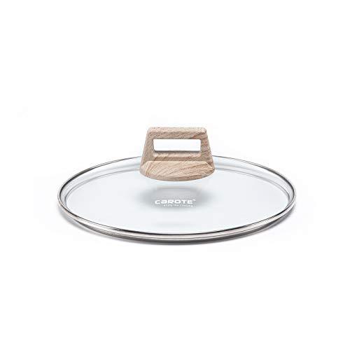 Tapa de cristal Carote, resistente al calor, para ollas y sartenes, de...