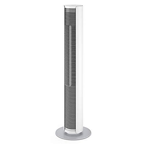 Stadler Form Turmventilator Peter mit Timer- und Schwenkfunktion inkl. Fernbedienung,  drei Geschwindigkeitsstufen, weiß/silber