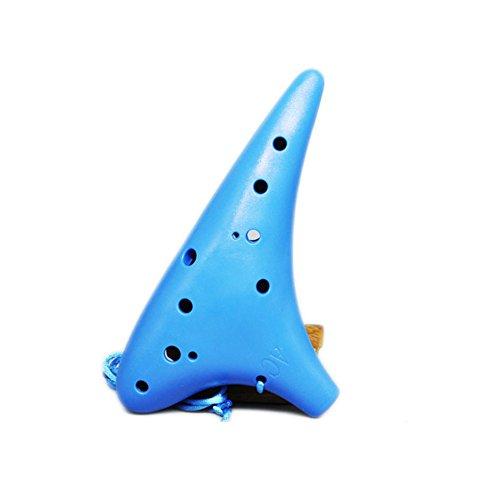WANDIC - Ocarina 12 agujeros tono alto C plástico