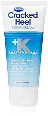 Silkia PEDICARE Cracked Heel Repair Cream | 48hr Active Skin Repair | Clinically Tested | 80 ml from Linco Care Ltd.
