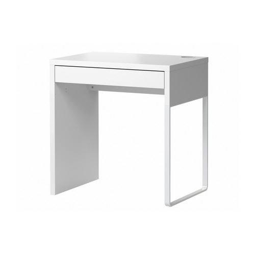 MICKE – skrivbord, vit