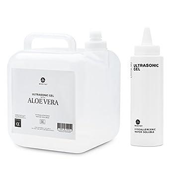 Medvat Clear Transmission Gel - 5 Liter Container - Includes 8-oz Refillable Bottle