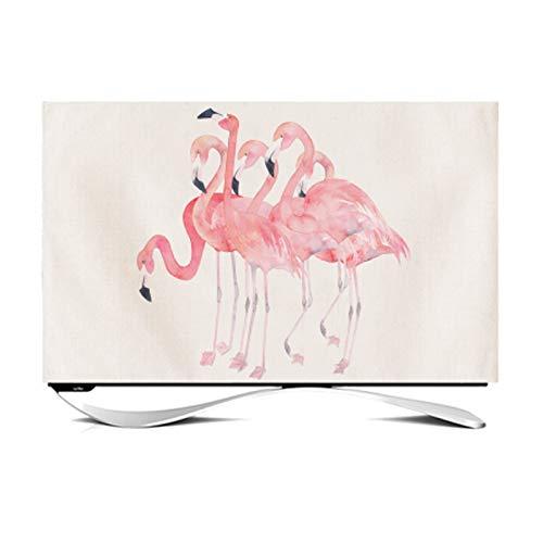 MFMYUANHAN Televisor Colgante LCD Curvo de 32 Pulgadas, televisor Interior, televisor LCD Minimalista Moderno de 49 Pulgadas y 35 Pulgadas(Size:28in)