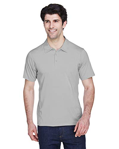 TT20 T3 MENS CHARGER POLY POLO SPORT SILVER L