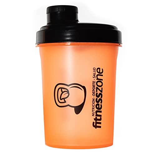 Fitness Zone | Nano Shaker Rosca 500 ml | Bottle Cocktail Pequeño Para Batidos de Proteínas u Otras Bebidas con Tapón de Rosca Antiapertura y Filtro Evita Grumos | Coctelera y Mezcladora Para Batidos