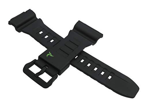 Casio 10500877 - Correa de Reloj para STL-S110H STL S110H S110 S110, Color Negro