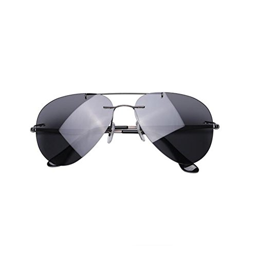 LILI-HW Gafas De Sol Polarizadas De Aleación De Titanio Pur