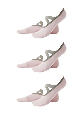 EFOFEI Women's Yoga Socks Non-Slip For Women Best Idel For Pilates Outdoors Sports Workout Stockings With Non-Skid Grains