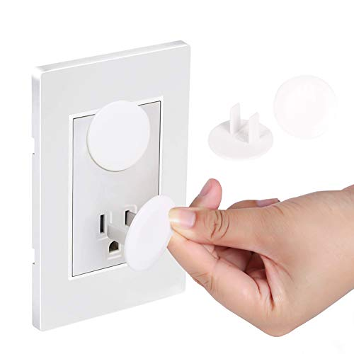 38 Pack Outlet Covers ChildProof Plug Protector - Vmaisi Baby Proofing Electrical Safety Outlet Plugs