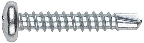 Index ABR3509 - Tornillo punta broca DIN 7504-N cabeza alomada phillips zincado 3,5 x 9,5