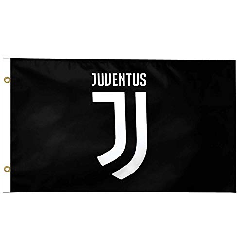 Offizielle FC Juventus (Serie A) Riesenflagge, 100 % Polyester, 150 x 90 cm