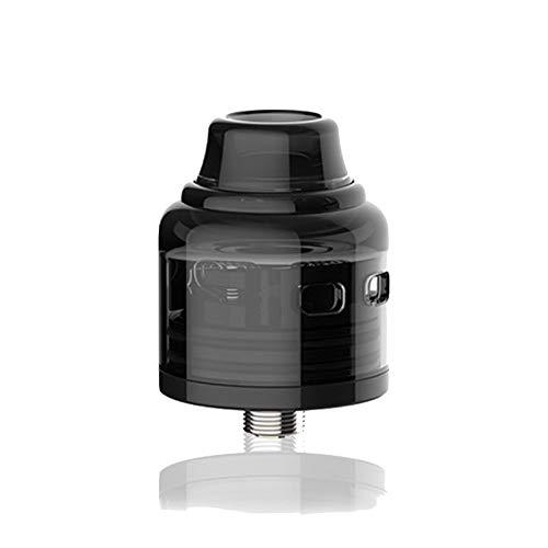 Oumier Wasp Nano S RDA Transparent Black Producto SIN NICOTINA *| - Negro, 25 mm