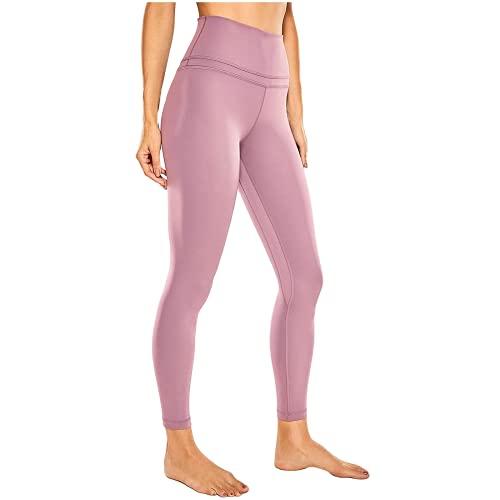 QTJY Pantalones de Yoga de Bolsillo para Mujer, Cintura Alta, Caderas, Mallas de Abdomen, Ejercicios de flexión, Pantalones Deportivos para Celulitis E XL