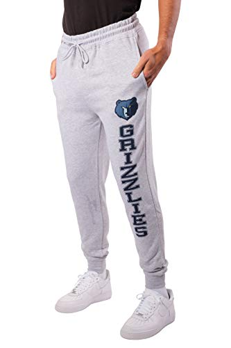 Ultra Game NBA Memphis Grizzlies Herren-Jogginghose, linkes Bein, Logo, Größe XXL