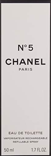 Chanel No.5, femme/woman, Eau de Toilette, Nachfüllflasche, 50 ml