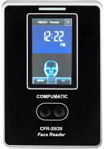 Compumatic CFR-20/20 v2 TOUCHLESS Biometric Face Recognition Time Clock System, WiFi, CompuTime101 Software Included, 0 NO Monthly Fees!!