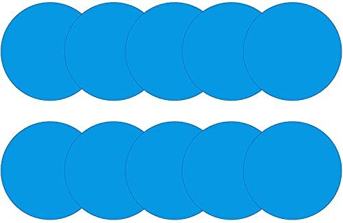 Pipihome Zelfklevende reparatieset voor zwembaden, 10 stuks pvc-reparatieset voor zwembad, reparatie zwembad, waterbed…