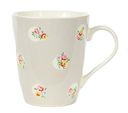 Kath Kidston China Stanley bloempot mok 400ml in steen