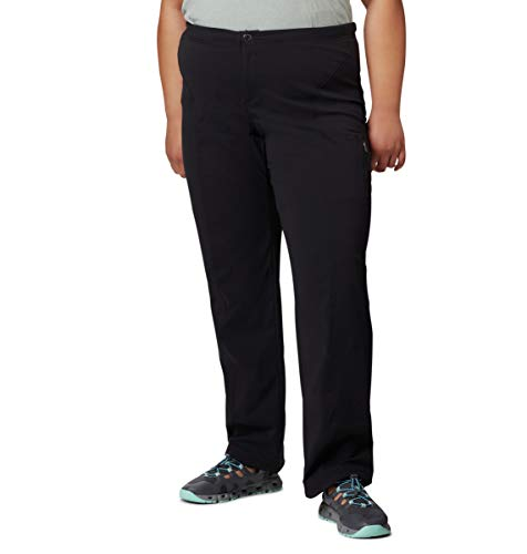 Columbia Women's Anytime Casual Pull on Pant, Black, LxR