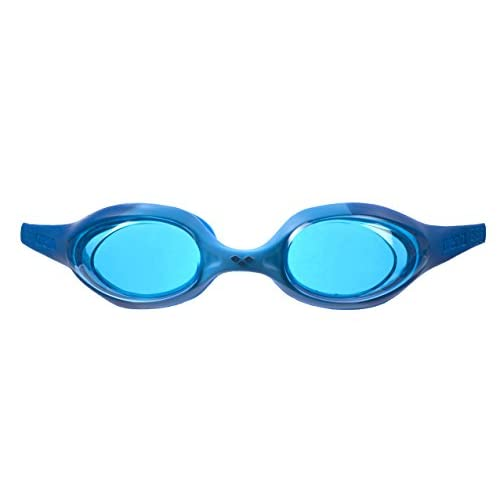 Arena Spider Jr, Occhialini Unisex Bambini, Multicolore (Blue/LightBlue/Blue), Taglia Unica