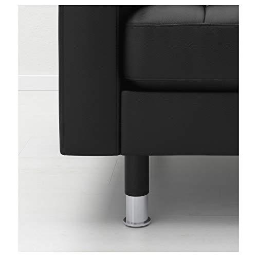Ikea Landskrona - Patas de metal (15 x 5 cm, 4 unidades)