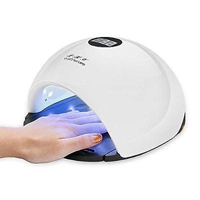 UV Light for Nails,LKE Curing Lamp for Gel Nail Polish 54W UV Led Light Gel Nail Starter Kit Nail Dryer Accessories