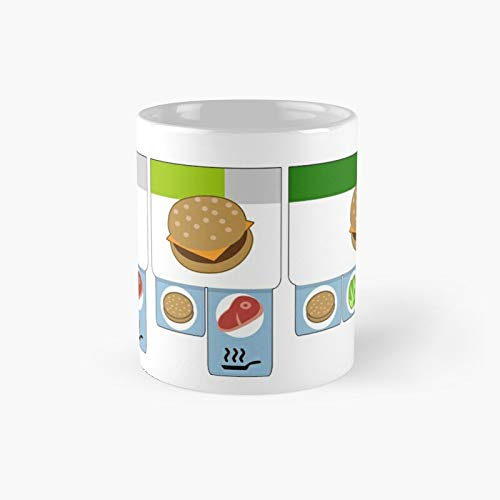 Overcooked - Burger Of The Day Classic Mug 11 Oz.