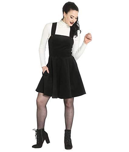 Hell Bunny Maravillas Años Pichi Vestido Vestido Corto Negro