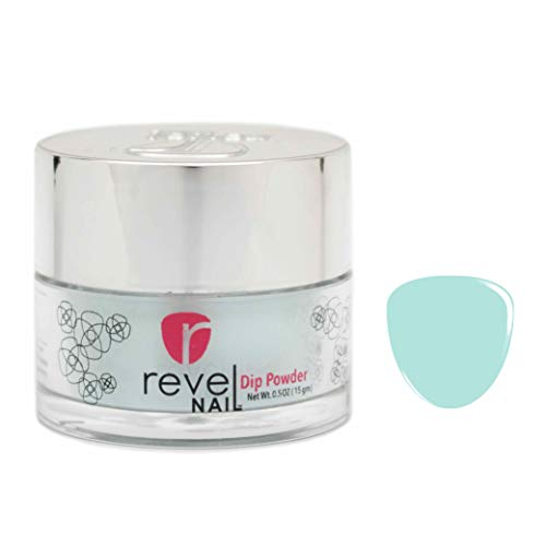 Revel Nail Dip Powder | for Manicures | Nail Polish Alternative | Non-Toxic, Odor-Free | Crack & Chip Resistant | Vegan, Cruelty-Free | Can Last Up to 8 Weeks | 0.5oz Jar | Revel Mate | Bliss