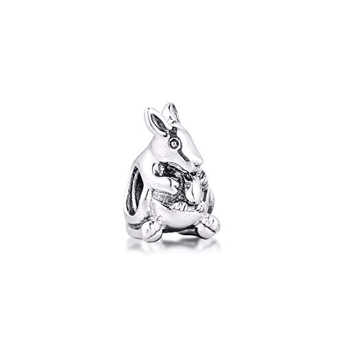 Jewelry Bracelet 925 Pandora Natural Fits Charms Silver Original Beads Sterling Silver Kangaroo Baby Charm For Making Kralen Diy Gifts For Women