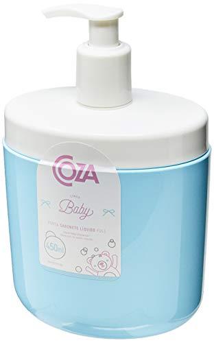 Porta Sabonete Liquido Full Coza Azul Baby