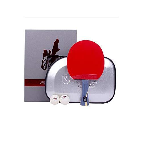 Best Review Of 8haowenju Wang Hao Table Tennis Bat, Horizontal Shot, Arrogant Double-Sided Anti-Adhe...