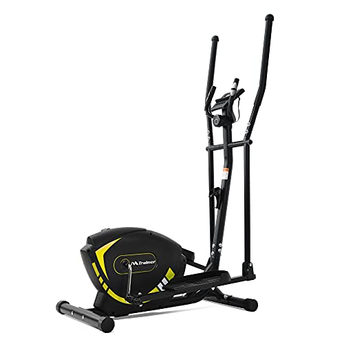 Exercise Machine Elliptical Trainer Machine Upright Exercise Bike with 8-Level Magnetic Resistance for Home Gym Cardio Workout