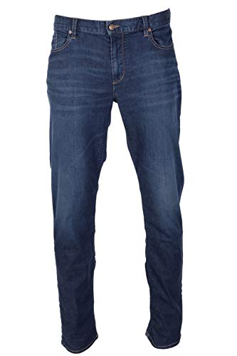 Alberto Hosen Pipe - DS Light Tencel Denim, blau(darkblue), Gr. 3334