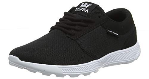 Supra Unisex-Erwachsene Hammer Run Sneaker, Schwarz (Black/White-White 009), 38 EU
