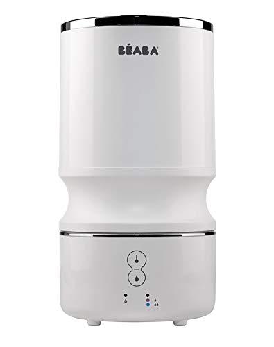 BÉABA, Humidificateur d'Air Silencieux à Vapeur Froide, Pour Bébé et Enfants, Silencieux, Grande Autonomie et Compact