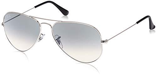 Ray-Ban RB3025-W3277-58 Gafas de sol, plateado, 0 Unisex