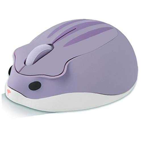 1pc Wireless Mouse Netter Hamster Shaped Computer-Maus Tragbare USB-Maus Cordless Mouse Für Laptop-Computer