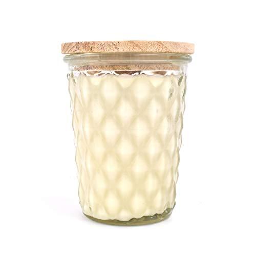 Swan Creek Candles - Mocha Marshmallow Swirl Timeless 12 oz Jar