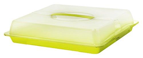 Rotho John Partybutler, Kunststoff (BPA-frei), grün / transparent, (47,5 x 39 x 9,8 cm)