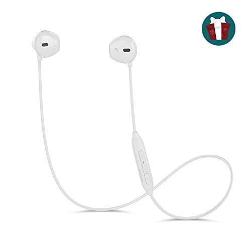 Cuffie Bluetooth Magnetiche Auricolari Wireless Resistente al Sudore con Microfono per iPhone X/ iPhone 8/ iPhone 7 Plus/7/6s/6/5s/5 Samsung Galaxy/Note...
